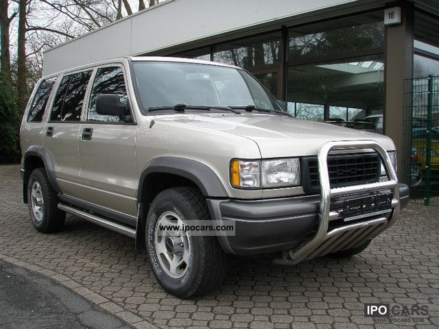 1996 Isuzu Trooper #15