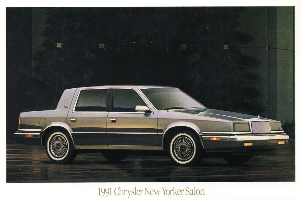 1991 chrysler new yorker photos informations articles for 1990 chrysler new yorker salon