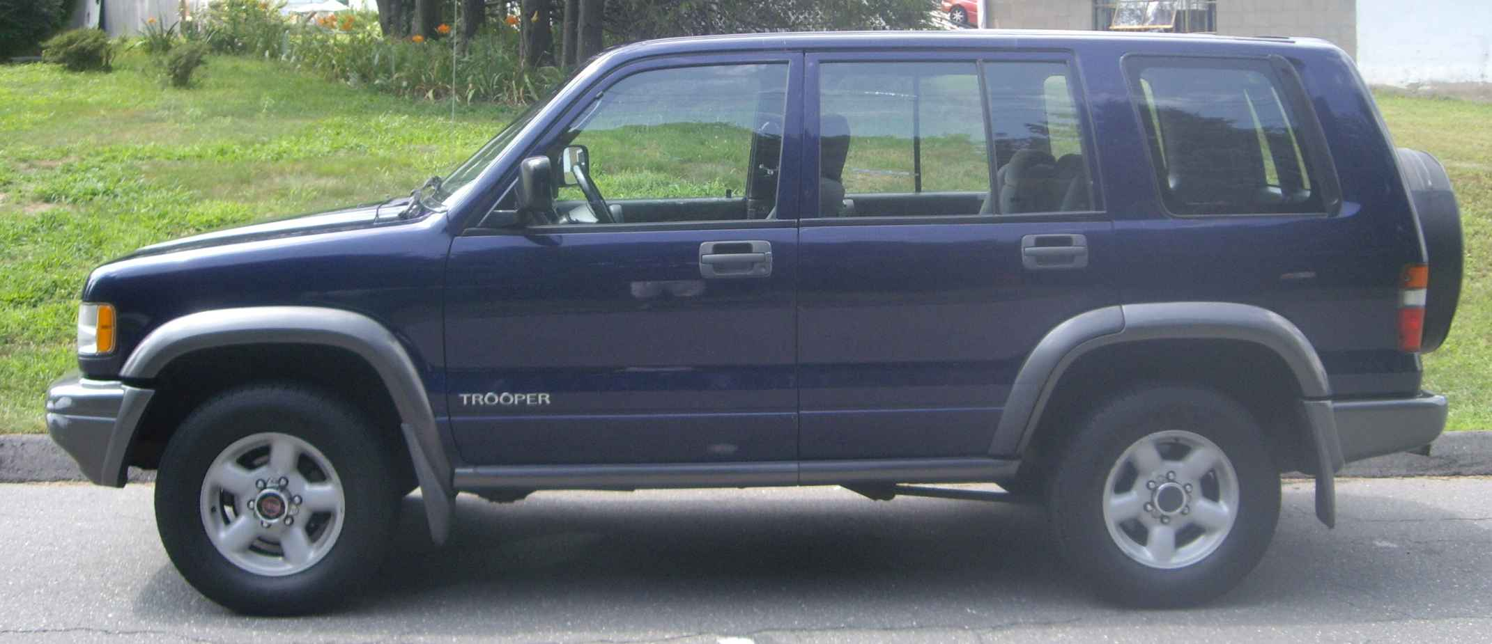 1995 Isuzu Trooper #16