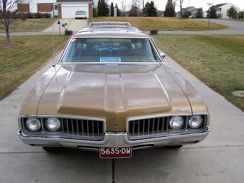 1969 Oldsmobile Vista Cruiser #2