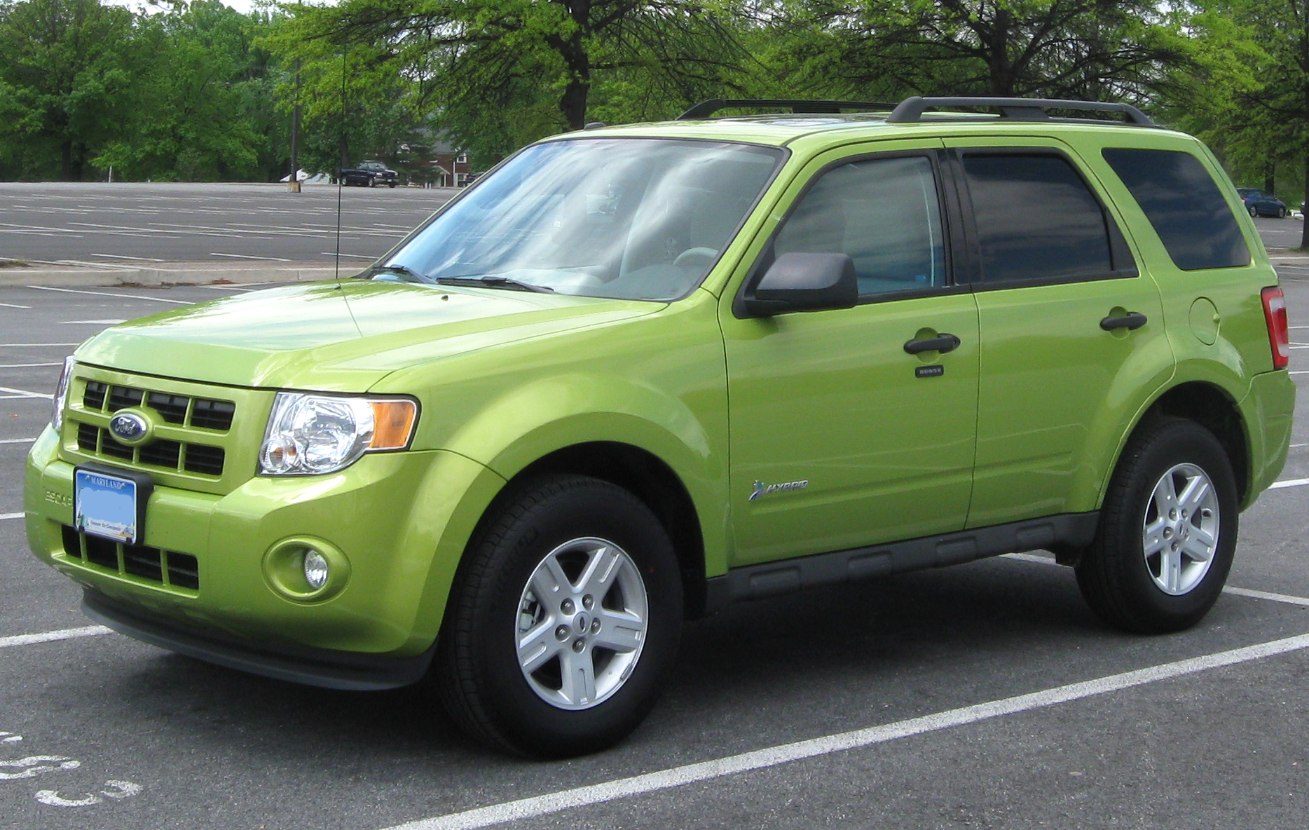 2011 Ford Escape Hybrid #10