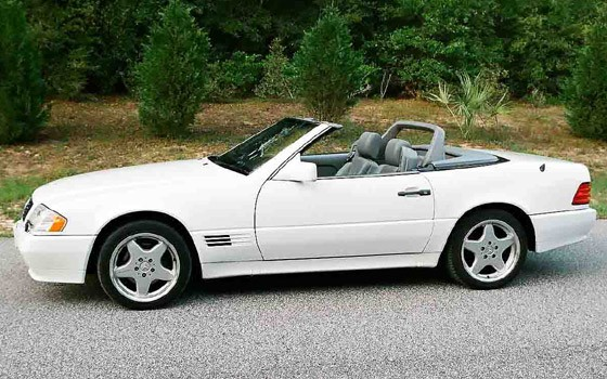 1990 Mercedes-Benz SL #4