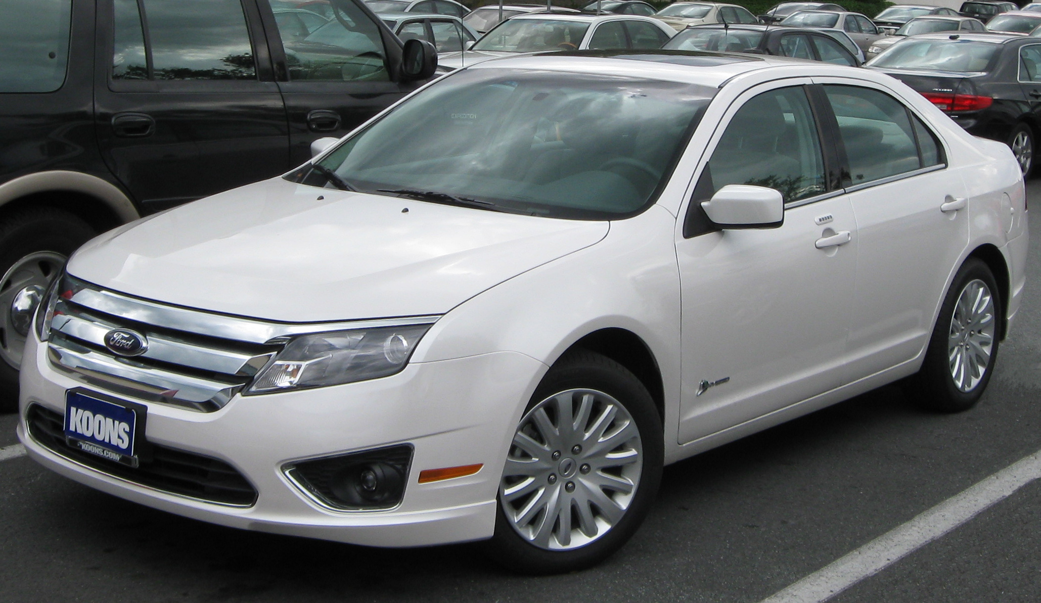 2011 Ford Fusion #13