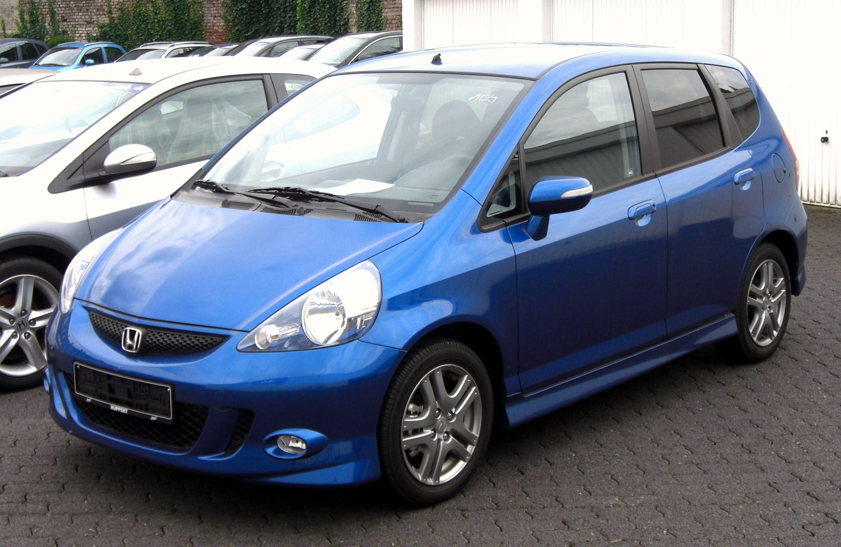 2007 honda jazz photos informations articles. Black Bedroom Furniture Sets. Home Design Ideas