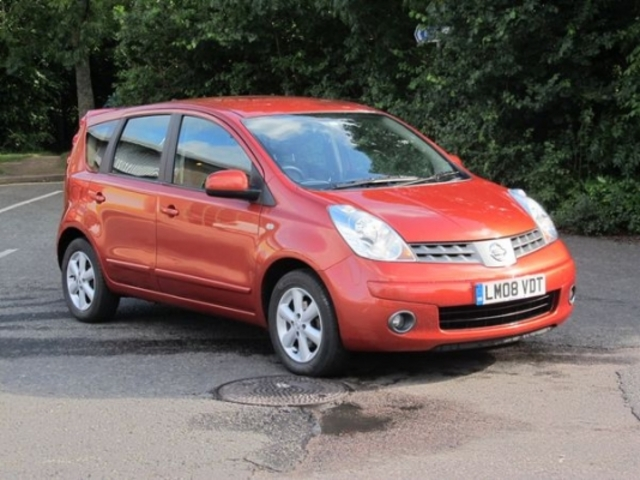 2008 Nissan Note #12
