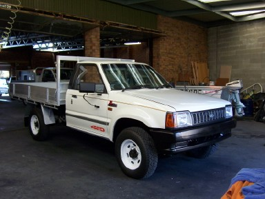 1989 Ford Courier #8