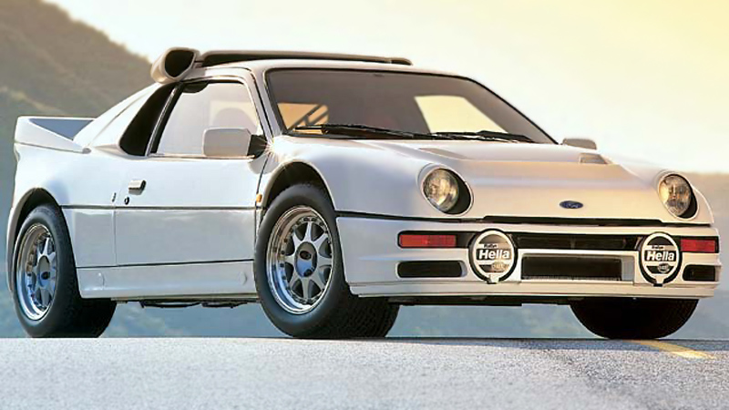 1990 Ford RS 200 #8