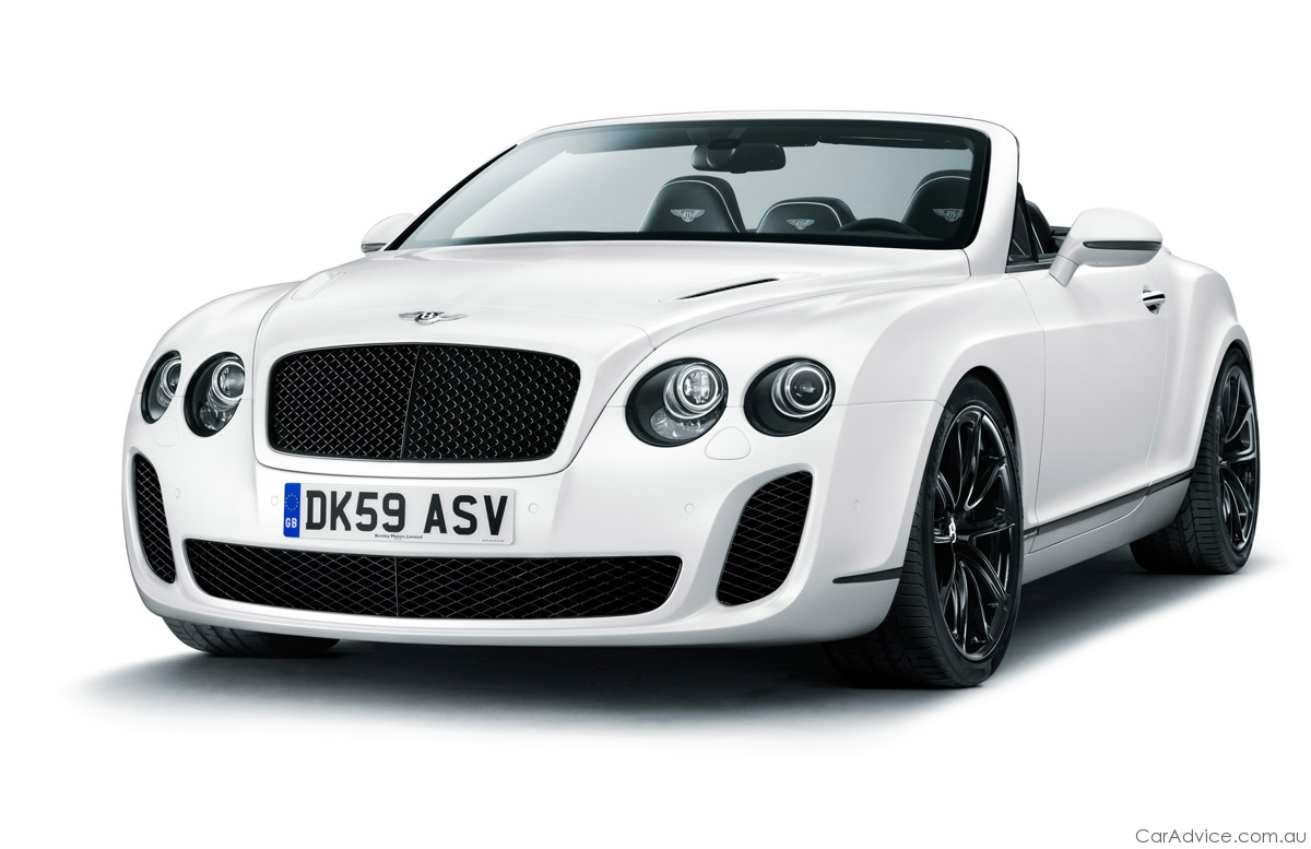 2011 Bentley Continental Supersports Convertible #16