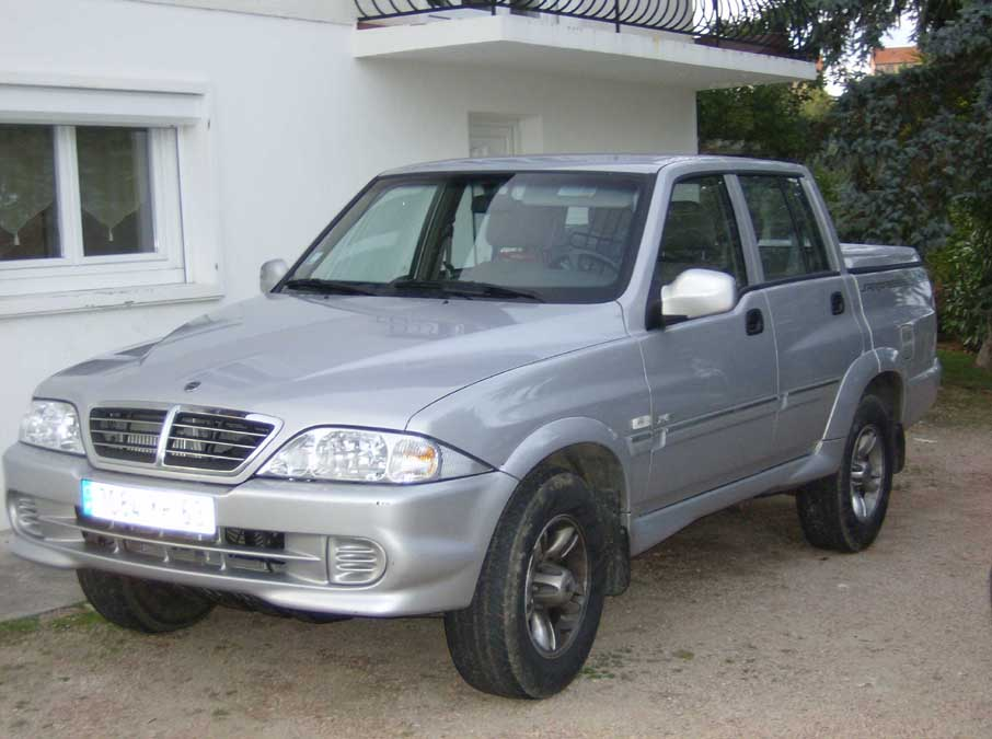 2006 Ssangyong Musso #10