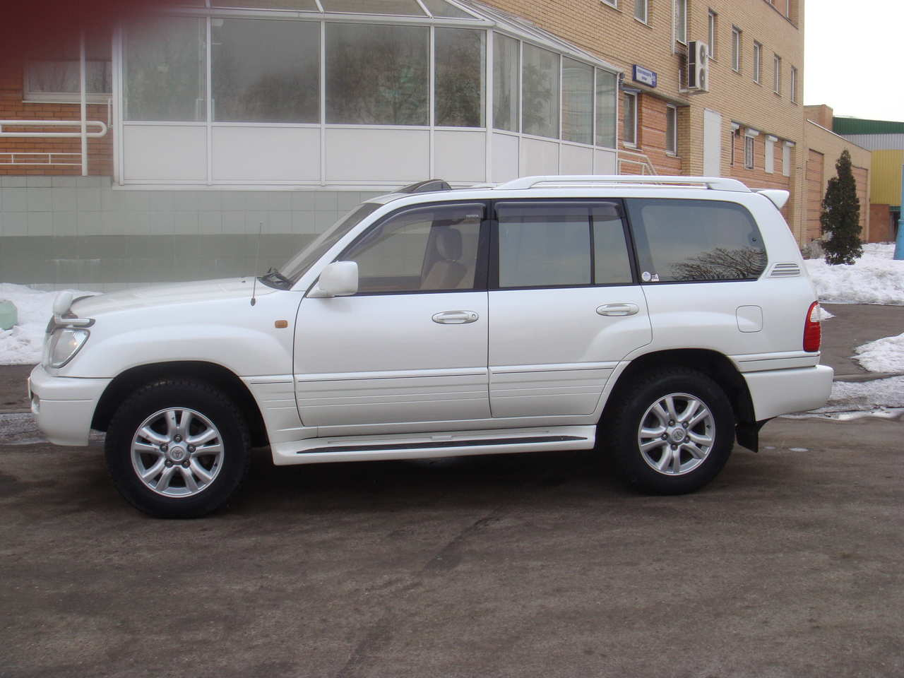 2002 Toyota Land Cruiser #5