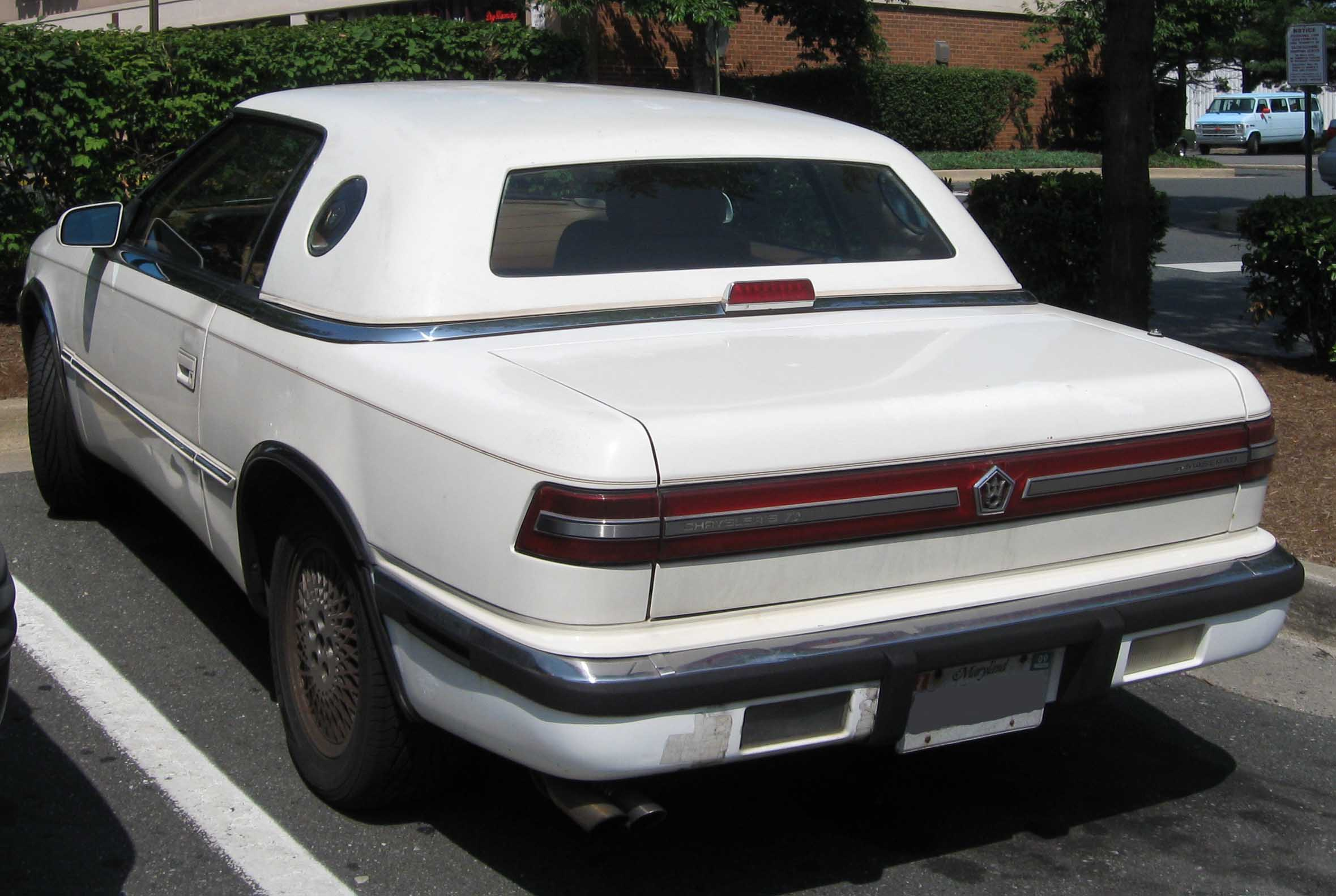 1990 Chrysler Tc #12