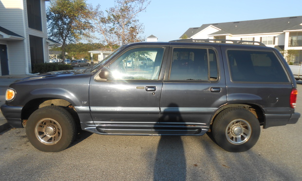 1999 Mercury Mountaineer #9