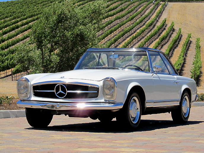 1966 Mercedes-Benz SL #8