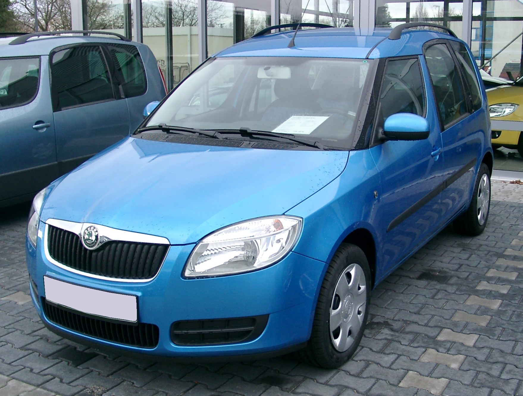 2007 skoda roomster photos informations articles. Black Bedroom Furniture Sets. Home Design Ideas