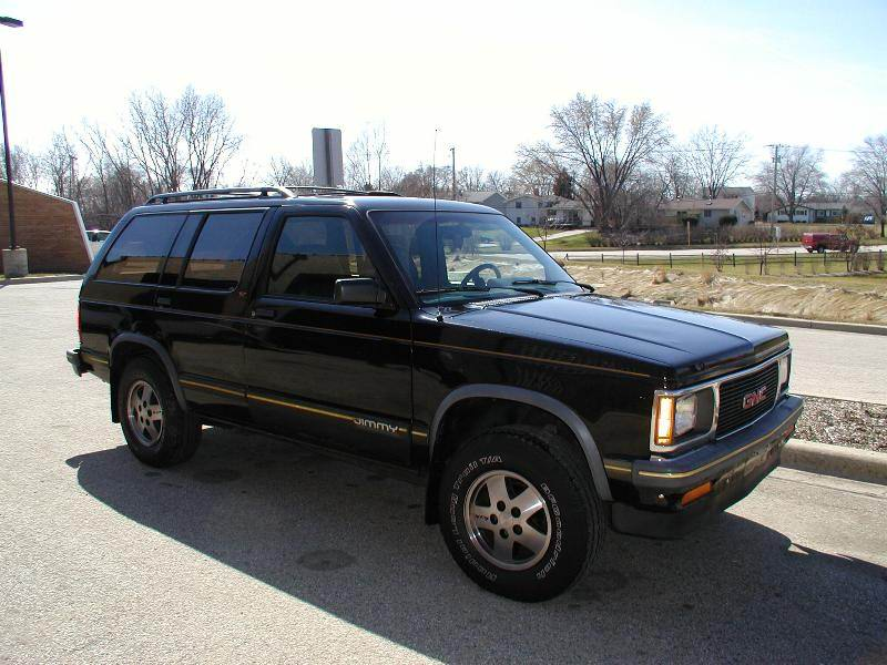 1992 GMC Jimmy #7