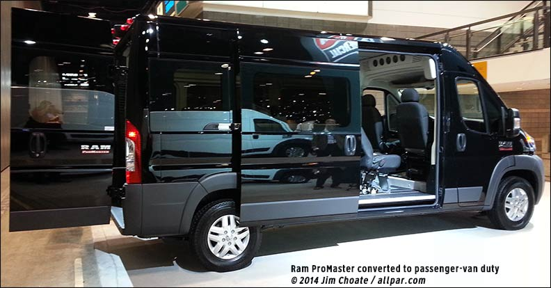 2014 Ram Promaster Window Van #2