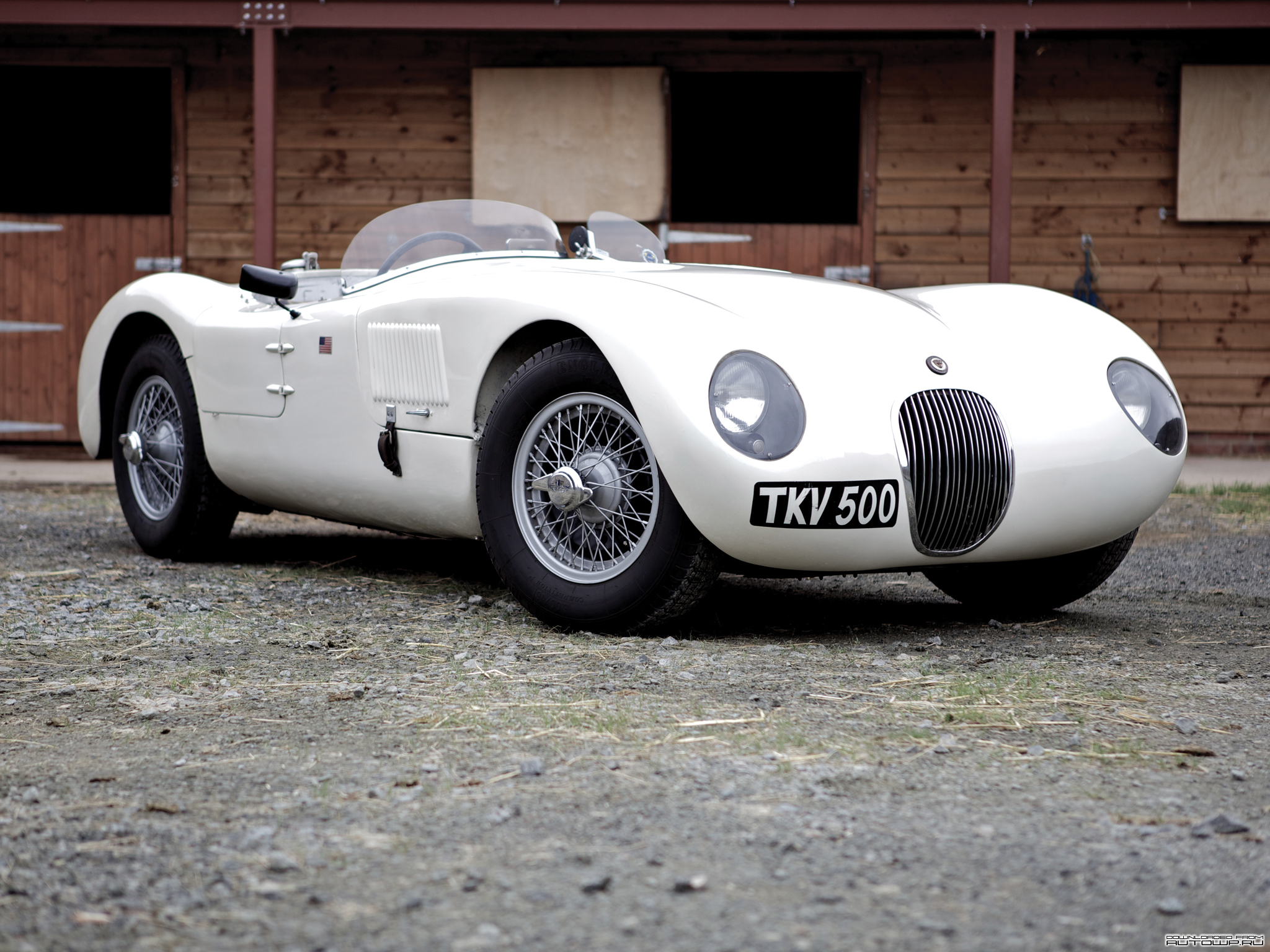 1951 Jaguar Type-C #5