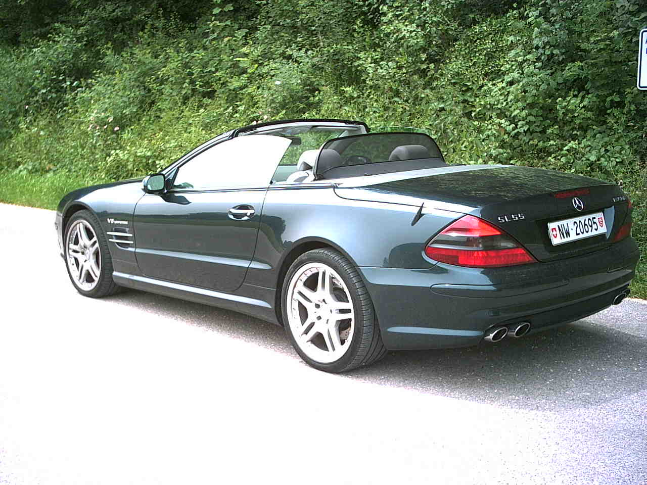 2005 Mercedes-Benz SL #13