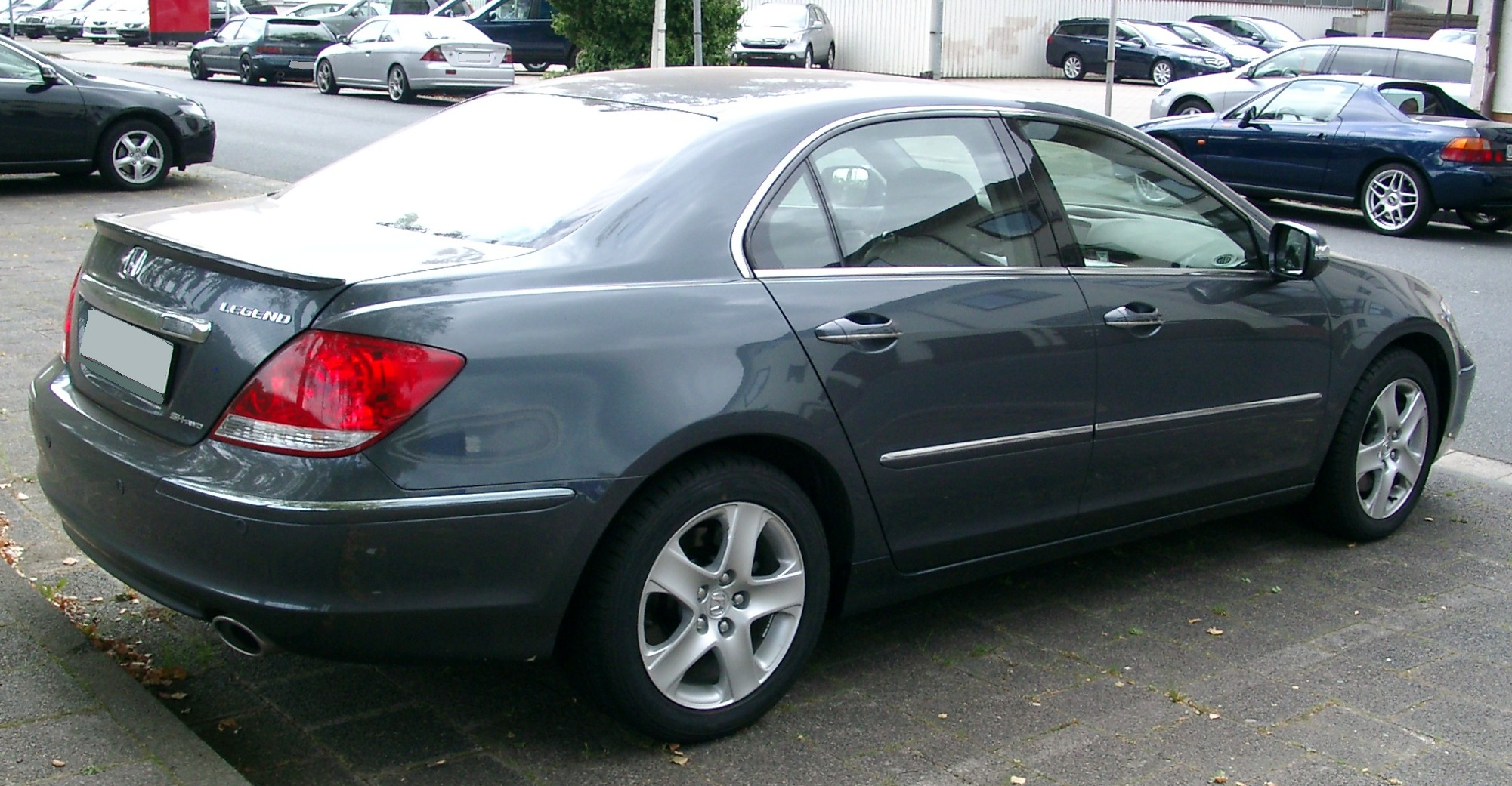 2007 Honda Legend #4