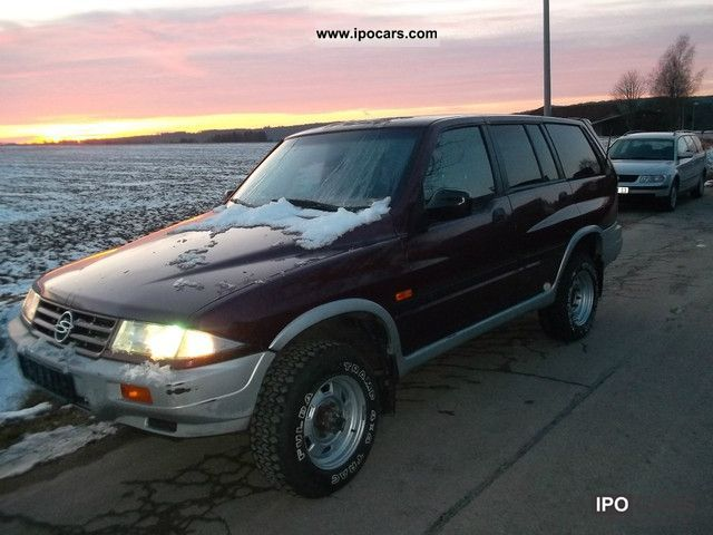 1996 Ssangyong Musso #13
