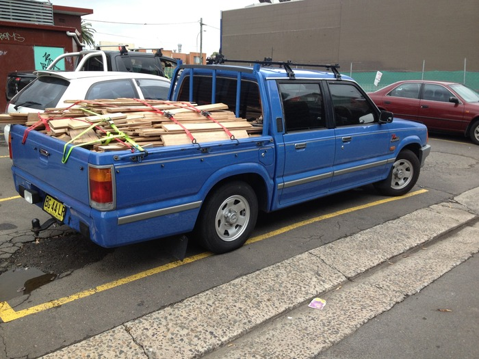 1995 Ford Courier #8