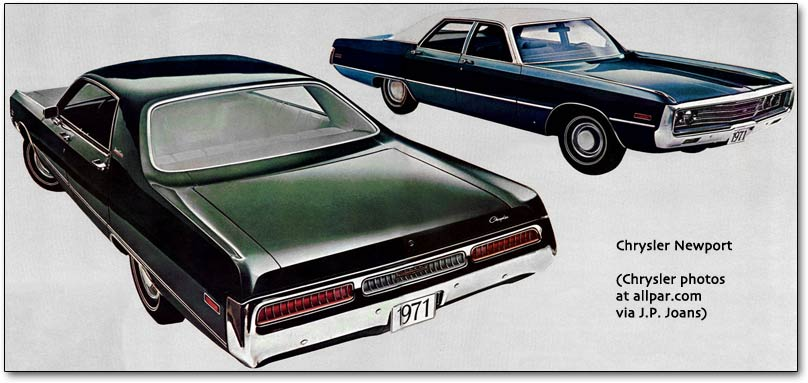 1971 Chrysler Newport #11