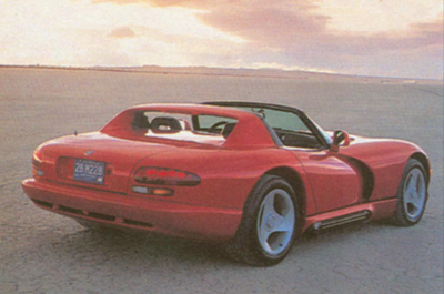 1993 Chrysler Viper #13