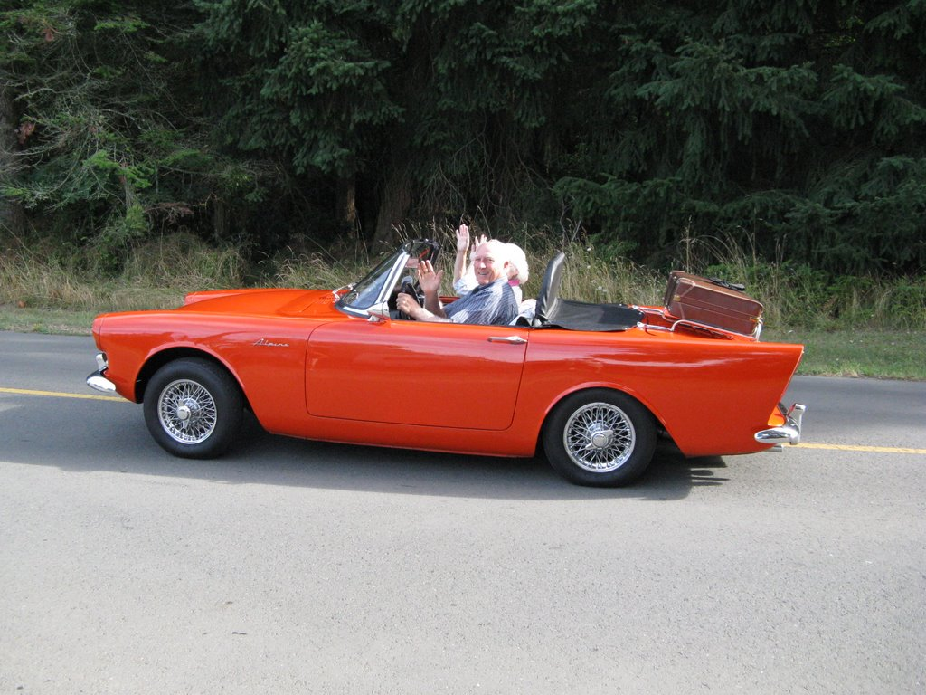 1962 Sunbeam Alpine #7