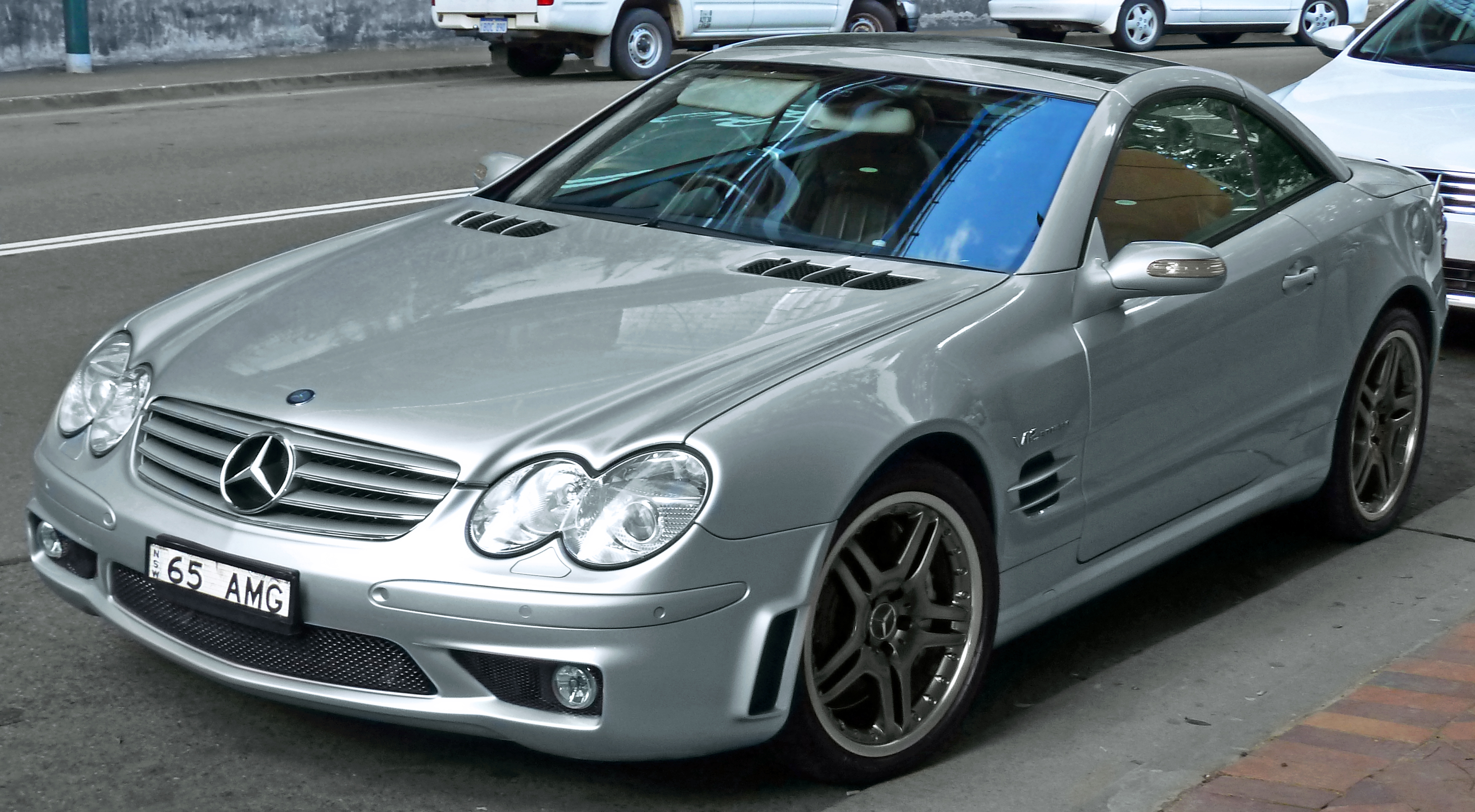 2004 Mercedes-Benz SL #9