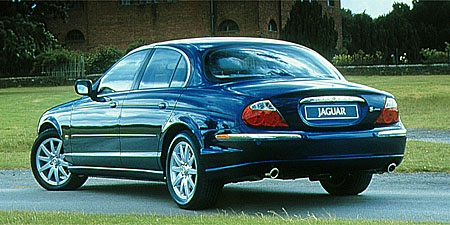 2000 Jaguar S-type #4