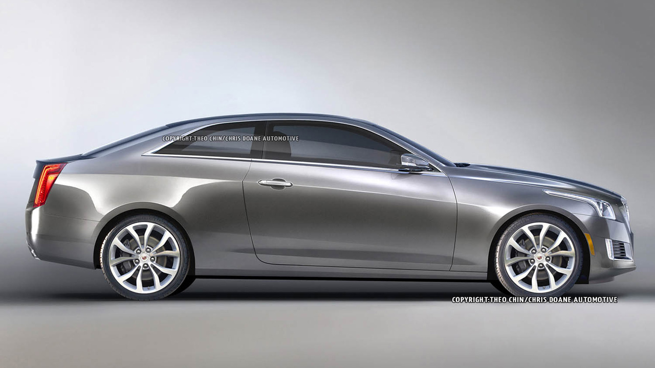 2014 Cadillac Cts Coupe #10