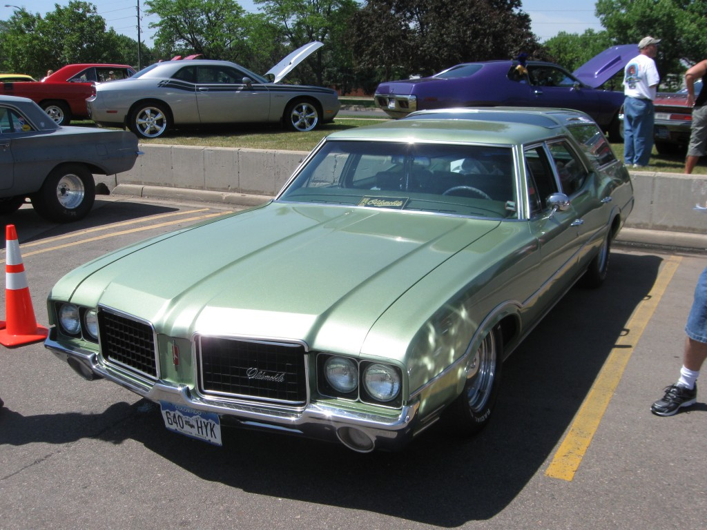 1972 Oldsmobile Vista Cruiser #9