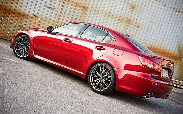2010 Lexus Is F #15