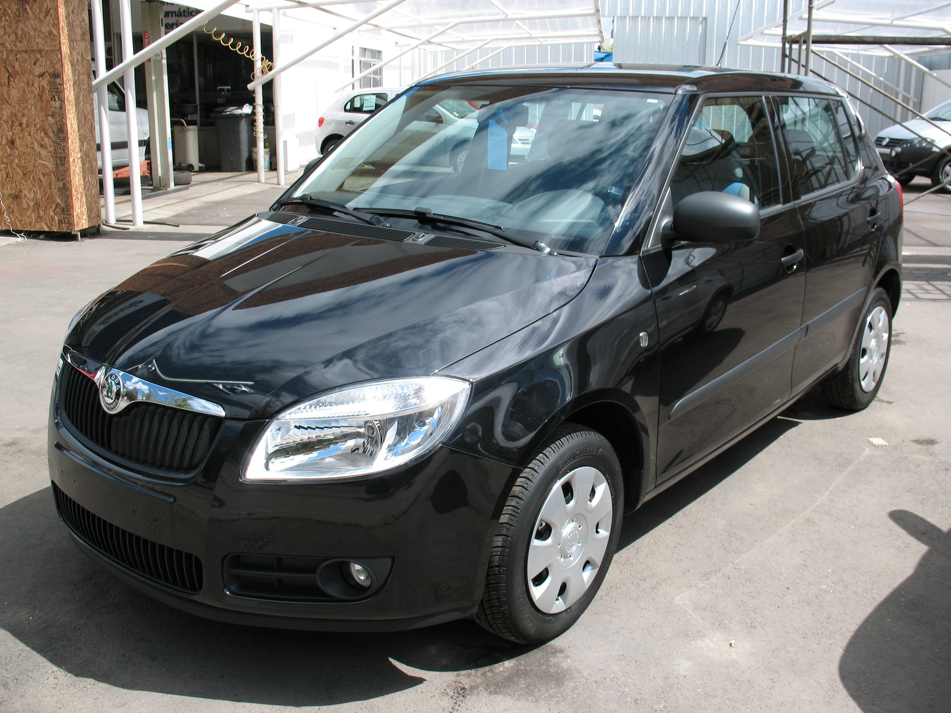 2008 skoda fabia photos informations articles. Black Bedroom Furniture Sets. Home Design Ideas