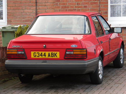 1990 Ford Orion #5