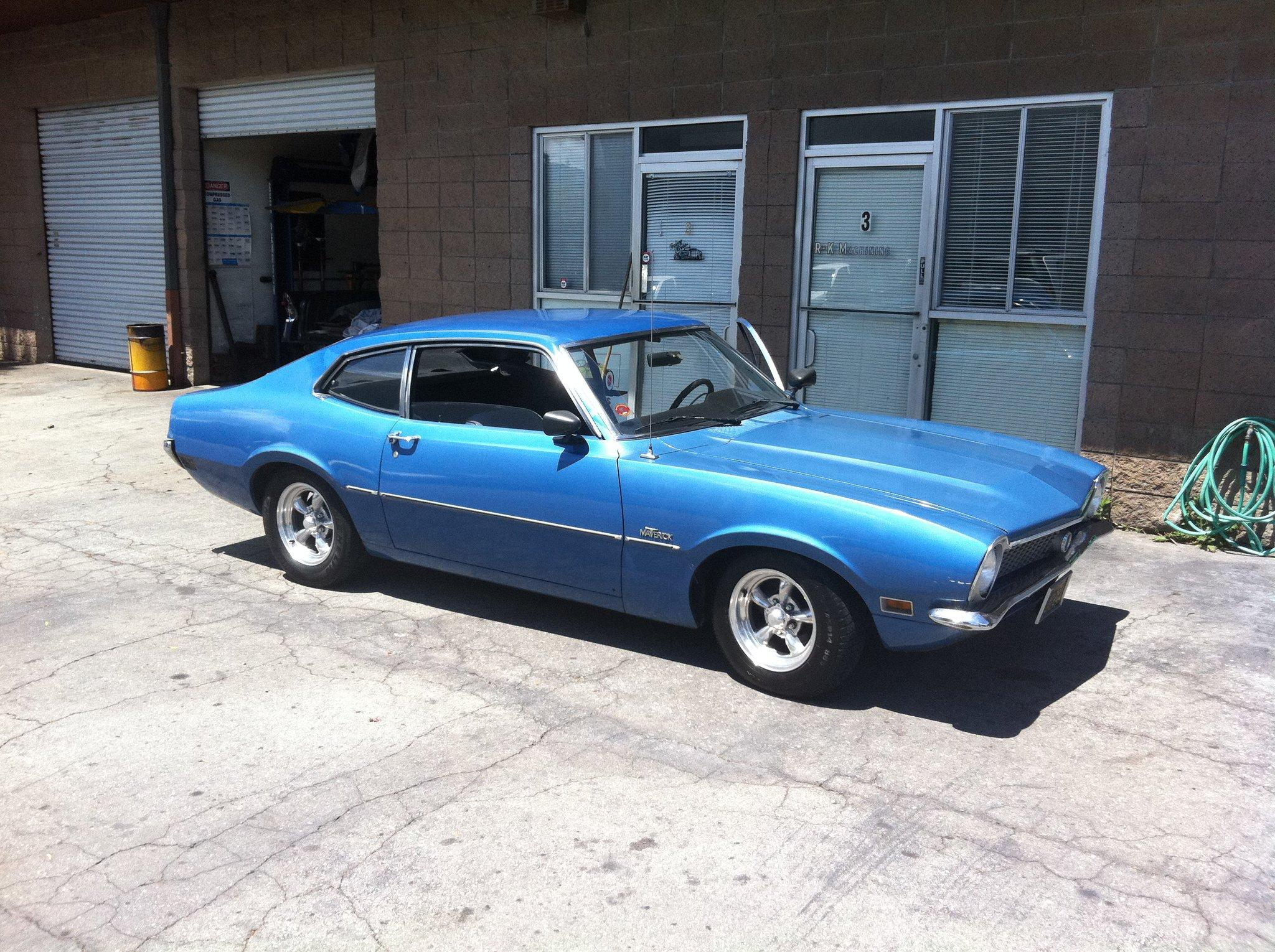 1970 Ford Maverick #6