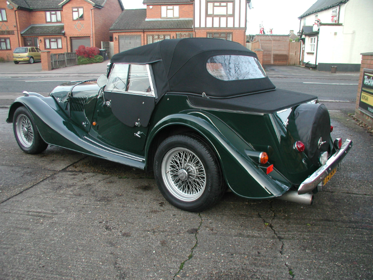 1998 Morgan Plus 4 #9