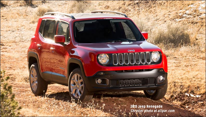 2015 Jeep Renegade #3