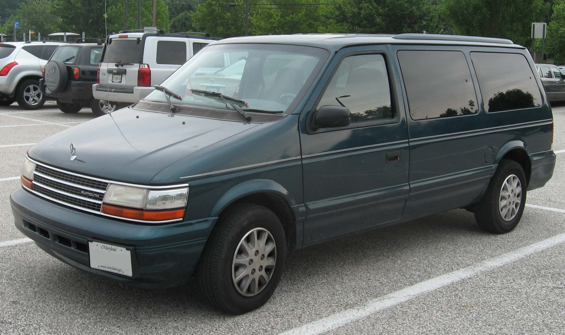 1991 Plymouth Grand Voyager Photos Informations Articles Acclaim Engine Diagram 4