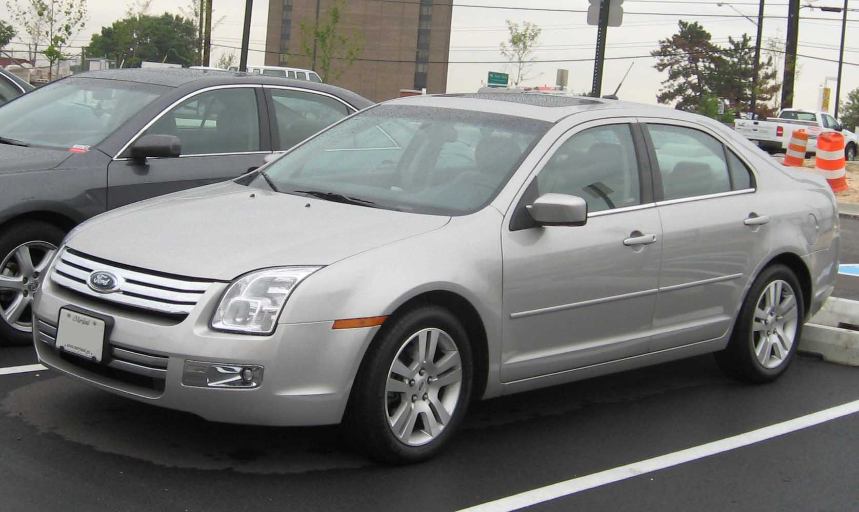 2007 Ford Fusion #9