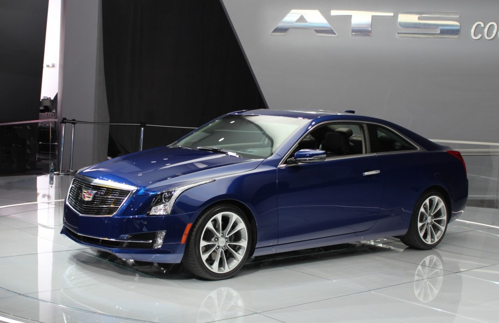 Cadillac Ats Coupe Photos, Informations, Articles - BestCarMag.com