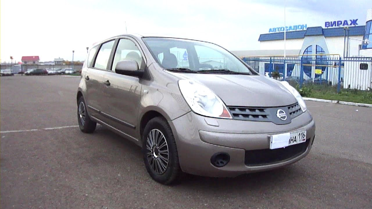 2008 Nissan Note #16