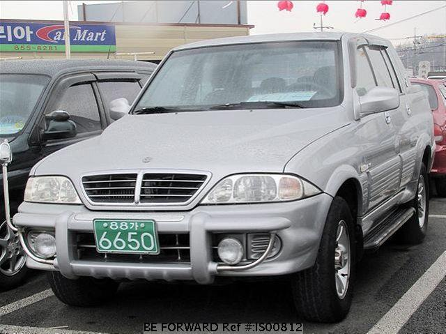 2004 Ssangyong Musso #9