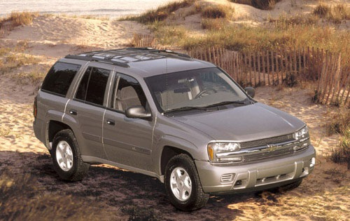 2002 Chevrolet Trailblazer #8