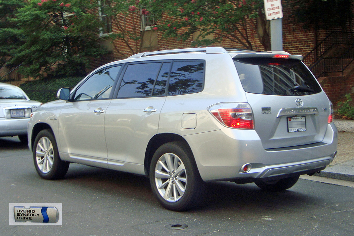 2009 toyota highlander hybrid photos informations. Black Bedroom Furniture Sets. Home Design Ideas