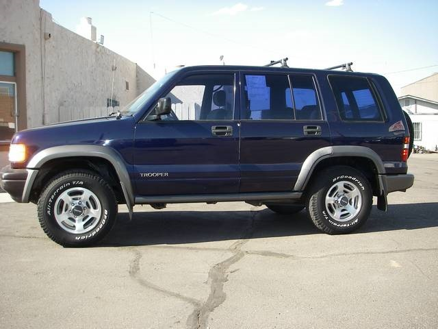 1996 Isuzu Trooper #6