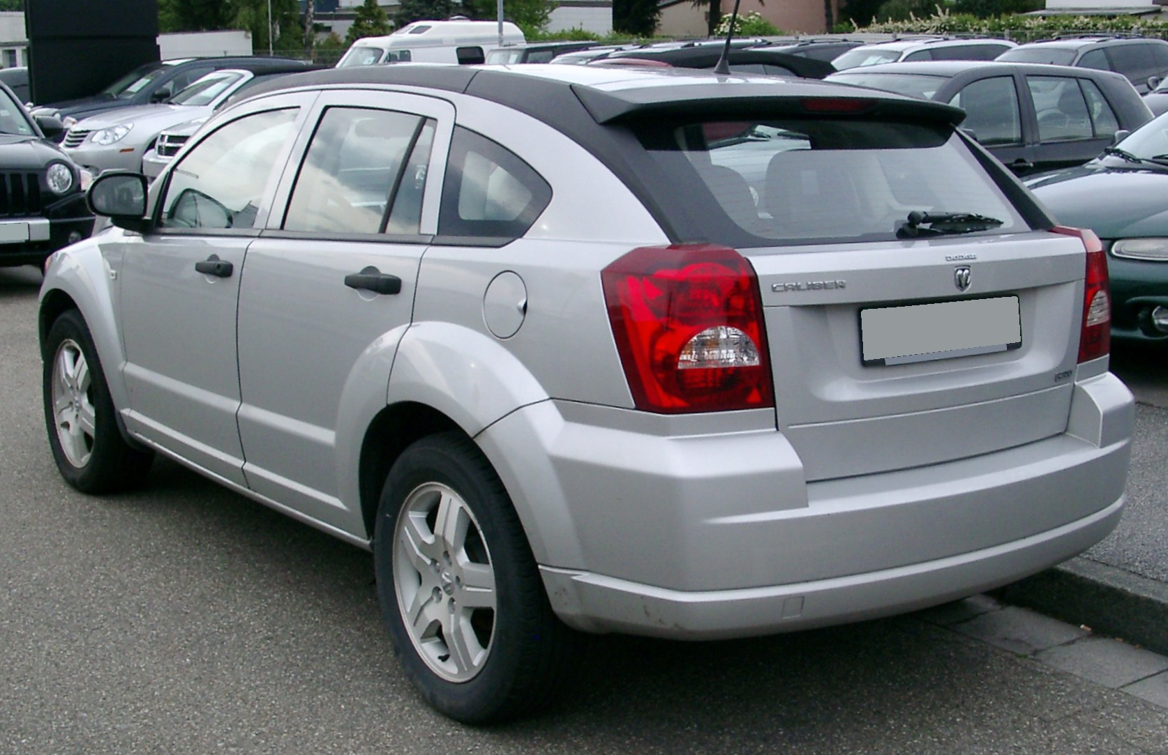 2008 dodge caliber photos informations articles. Black Bedroom Furniture Sets. Home Design Ideas