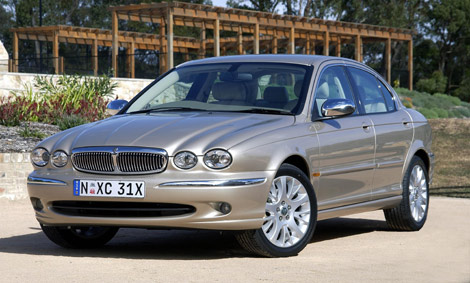 2007 Jaguar X-type #6