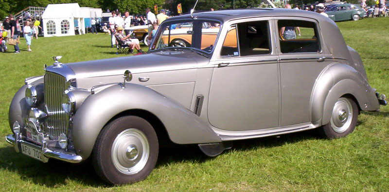 1952 Bentley Mark VI #1
