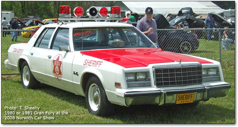 1981 Plymouth Gran Fury #7